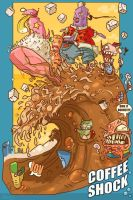 The COFFEE SHOCK wave by Fealasy