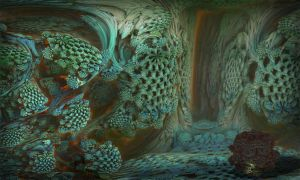 Second year of the MANDELBULB by MANDELWERK