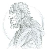 Grim Snape by infiniteviking