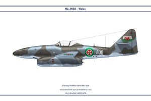 Fantasy 608 Me-262A Wales by WS-Clave