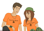 Chris and Clarisse by Jackie-lyn