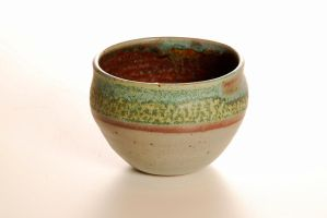 turquoise dream bowl by Recycled-Oxygen