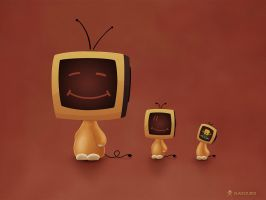 TV Heads 3 by vladstudio