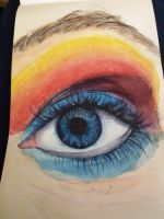 Watercolorful Eye by CelloChess