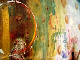 Detail from cities and soap bubbles by IronAries