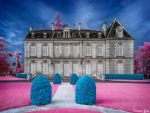 Le Chateau de l'Ermitage | Infrarouge | 2 by ToneeGee