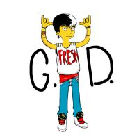 GD X The Simpsons by AFunny