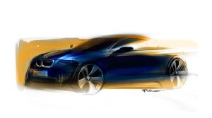 Bmw speed sketching by Qvaka