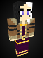 Wicked LeBlanc in Minecraft by Endette