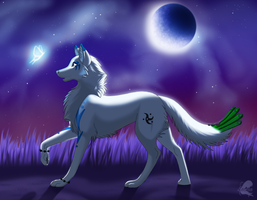 Moonlight and the Butterfly by NatameSecrea