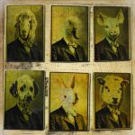 Portraits ATCs by hogret