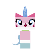 Hi! I am Princess Unikitty by kuren247
