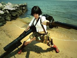 DMC3 Lady on the Beach by Haganegirl