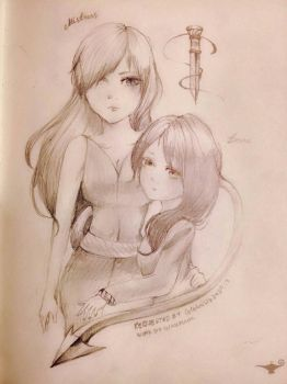 Emma and the Mistress - requested by CeceandLiz242 by GIassPiano