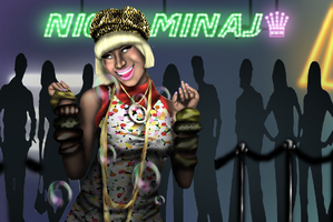 "Nicki Minaj In ""WTGA?"" picture by Ddog04"