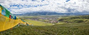 Litang Panorama by phlezk
