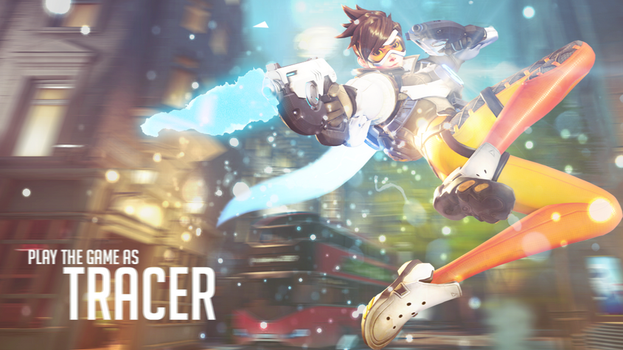 Play The Game As Tracer by ArturoArtwork