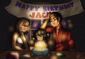 Happy Birthday Jackie by SolitaryHideAndSeek