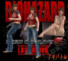 DOA Resident Evil Kasumi (Claire Mod) By SSPD077 by faytrobertson