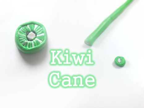 Tutorial: How To Make A Kiwi Cane Polymer Clay by CandyChick