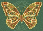 Celtic Butterfly by foxvox