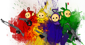 Teletubbies. by GariWa