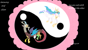 harmony and chaos by mr100dragon100