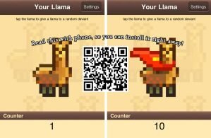 Llama Giving Game for Android by NAkos