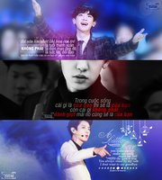 [CoverFace/Quotes][Pack cover][23052015] Chanyeol by Uyenhunhan