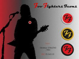 Foo Fighters Icons by guemor