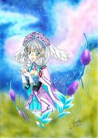 Melia from Xenoblade Chronicles by Rhapsody-Chan