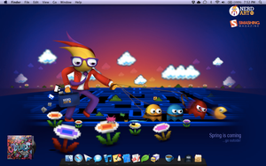 Desktop - April '11 by mGreenie