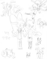 Rufuss doodles by Animeprincess1990
