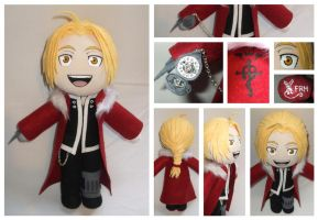Commission Edward Elric Plush by FlyingRabbitMonkey