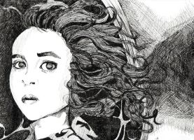 Helena Bonham Carter by Kelly-ART