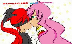 Firegirl_1000 and Utena by Nightangel-2222