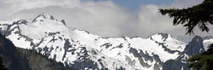 Snowy Mountians by rockmashane
