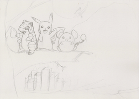 Orange Island starters sketch by schris91