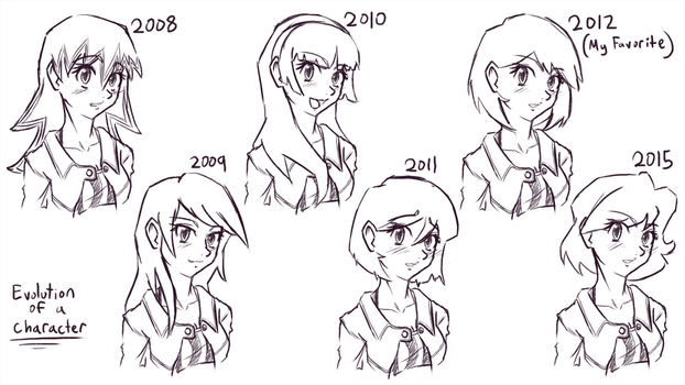 Character Evolution Mk.2 by ZaXo-KenIchi