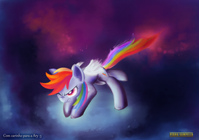 Rainbow Dash by PedroCampello