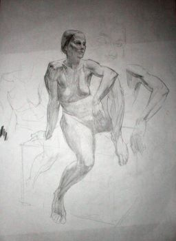 Life Drawing 3 by roughin