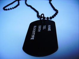 Metal Tags by oNezzzART