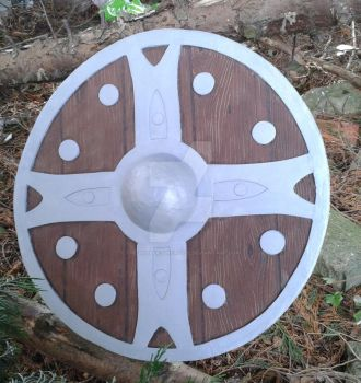 skyrim iron sheild by The-Rubber-Pineapple