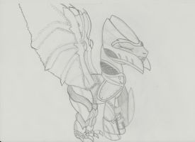 Dragon Knight Ponyed DRAWED by wingo265