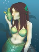 Mermaid by Stephany-Q-Vin