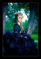 Hizaki: The Beauty in Black by general-kuroru