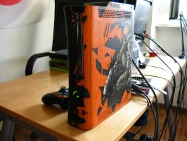 Halo 4 homemade Xbox #2 by EnergizerII