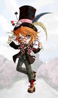 The Mad Hatter by Sureya by Keiko-cha