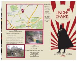 Under the Park Leaflet 1 by Gryffin-Tattoo