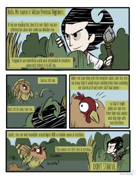 The Adventures of Wilson P. Higgsbury p. 1 by GhostlyMuse